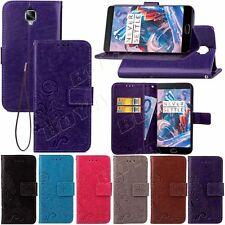 Clover Print PU Leather Case for Various Samsung Galaxy Phone Wallet Stand Cover
