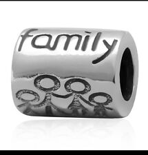 Family charm - Genuine 925 Sterling Silver -