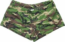 Womens Woodland Camouflage Spandex Short Shorts Slim Fit Hot Booty Shorts