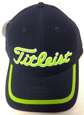 Titleist TPU Performance Golf Men's Hat NEW Navy Fitted Small Medium Large XL