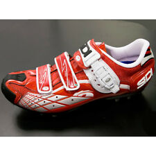 New SIDI SPIDER SRS Carbon Mountain Bike MTB Cycling Shoes Red Red EU41.5-46