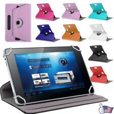 Premium Universal Leather Flip Case Cover For 7 inch Android Tablet PC US Stock