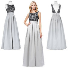 Sexy Long Evening Formal Party Cocktail Dresses Bridesmaid Prom Strapless Gowns