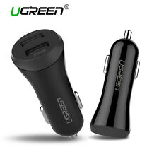 Ugreen Universal Dual Port 3.4A USB Car Charger Adapter for Samsung iPhone GPS