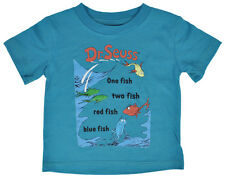 Dr. Seuss One Fish Two Fish Baby Toddlers T-Shirt
