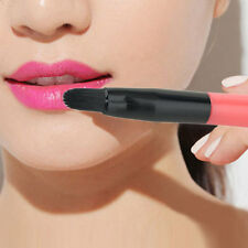 Retractable Portable Lip Eyeliner Lipstick Brush Makeup Cosmetic Beauty Tool LY