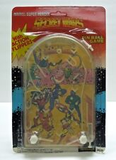 1984 MARVEL SECRET WARS PIN BALL GAME Spider-Man Wolverine SEALED VERY RARE
