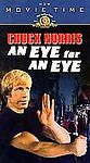 CHUCK NORRIS~AN EYE FOR AN EYE (VHS, 1998, Movie Time) BRAND NEW~Sealed!