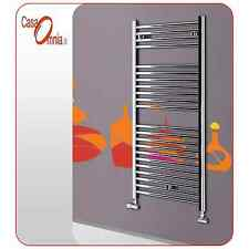 HEATED TOWEL RAILS WHITE OR CHROME - SANREMO BY LAZZARINI