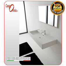 """LAY-ON OR WALL-MOUNTED WASHBASIN WITH TAP HOLE """"TEOREMA"""""""