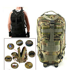 30L Military Tactical Backpack Oxford 3P Sport Bag For Camping Traveling Hiking