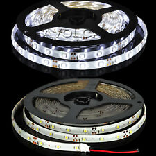5M SMD 3528 Flexible LED Strip Light Car Waterproof 300Leds Cool White DC 12V