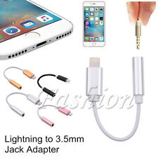 New 3.5 mm Aux Headphone Jack Adapter Matal Cable Cord For iPhone 7 / 7 Plus