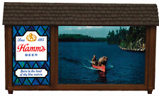Hamms Beer Bear in Canoe Replacement Parts - Hamms Bear in Canoe Sign
