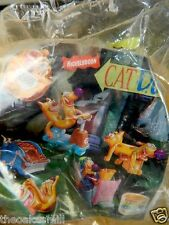 Burger King Meals CATDOG in Bed Toy Car Figure Peter Hannan Cat Dog NIP Sealed