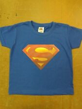 Boys Hero T-Shirts Batman/Superman Fruit of the Loom Shirts 5 Sizes