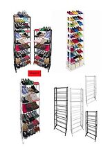 7 / 10 TIER SHOE RACK STORAGE ORGANISER STAND SHELF Rack Stand Organiser.