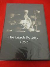 THE LEACH POTTERY 1952 DVD BERNARD LEACH ST IVES CORNWALL VERY RARE SEALED DVD