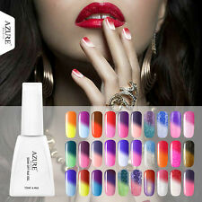 Azure 12ML Art Gel Temperature Color Nail Changing UV Soak Off Gel Nail Polish