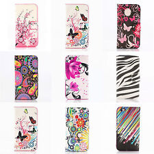 WL Classic Flower Flip Leather PU Wallet Stand Case Cover For iPhone 6 6 plus