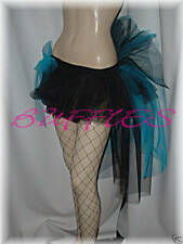 Black Tutu Moulin Rouge White Red Fancy dress Burlesque Tutu  Bustle Size 10-18