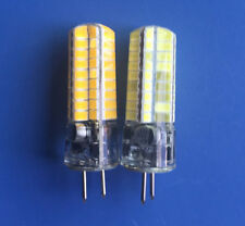 GY6.35  6W LED 72- 5730 SMD Bulb Lamp DC12~24V/AC12V Warm/White Crystal Dropligh