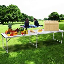 Portable Aluminum Folding Table Outdoor Picnic Party Dining Camp Table 4 Design~