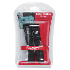 MASTERS GOLF TROLLEY WEBBING STRAPS - NEW CLIPS BUCKLE