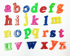 26pcs Plastic Alphabet Letters Baby Toys Kids Fridge Magnet  Educational Toy ON