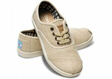 TOMS Youth Classic Cordones Natural Burlap