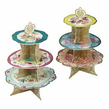 * Truly Scrumptious Cake Stand - Vintage High Tea Party