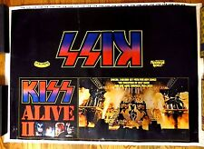 1977 KISS Alive II Promo Poster Casablanca Rock Steady 28 x 40""