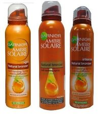 GARNIER AMBRE SOLAIRE TAN NATURAL BRONZER SELF-TANNING SPRAY LIGHT MEDIUM INTENS