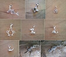 925 silver clip-on charms for bracelets/pendants - great quality, great price!