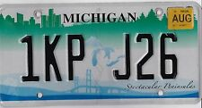 🌟🌟🎼🎶🎶 AUTHENTIC USA 2010' MICHIGAN BRIDGE LICENSE PLATE.  WOW!!!