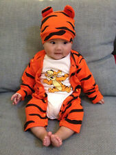 Cute Tiger Baby Rompers Unisex Newborn Baby Clothes Infant Girls Clothing