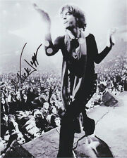 MICK JAGGER HAND signed Autographed 8X10 photo w/COA Authentic ROLLING STONES