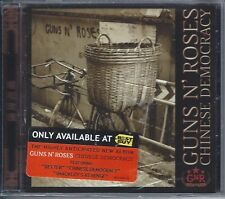 GUNS N' ROSES CHINESE DEMOCRACY ONLY AT BEST BUY CD GNR SLASH  DUFF AXL ROSE