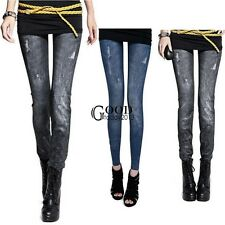 NEW Sexy Women Jeans Skinny Jeggings Stretchy Slim Leggings Skinny Pants TXGT