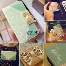 Fashion Wallet Card Holder PU Leather Flip Case Cover For Samsung Galaxy TXGT