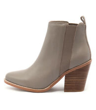 New Sol Sana Toni Boot Taupe Women Shoes Casuals Boots Ankle Boots