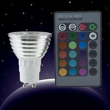 New Pro 5W E27 Multi Color Change RGB LED Light Bulb Lamp with Remote Control C1