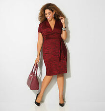 AVENUE Spacedye Side Tier Dress