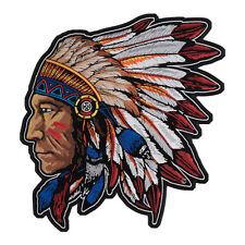Native American Chief Headdress Patch, Native American Patches