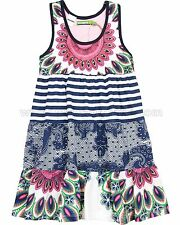 Desigual Girls' Dress Boton, Sizes 5-14