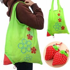 Cute Recycle Fashion Shopping Tote Bags Strawberry Eco Handbag Reusable Bag