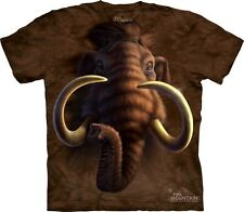 Mammoth Head Kids T-Shirt from The Mountain. Big Face Boy Girl Child Sizes NEW