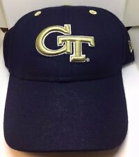 Georgia Tech Yellow Jackets New Era Concealer Fitted Hat - New