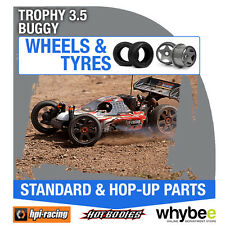 HPI TROPHY 3.5 BUGGY [Wheels & Tyres] Genuine HPi 1/8 R/C Scale!