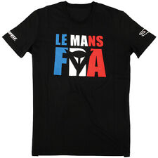 Dainese Le Mans D1 Motorcycle Casual Wear T-Shirt - Black